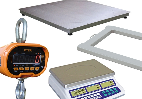 Scales, Modules &  Weighing platforms