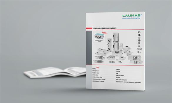 Células de carga y accesorios de montaje - catálogo resumido