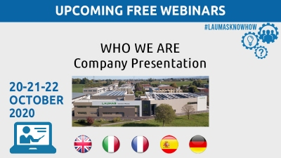 WEBINAR: Who we are. Company presentation