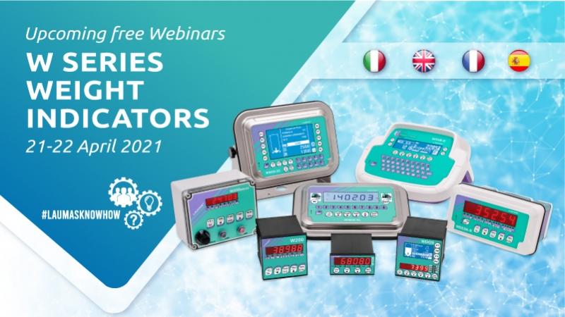 Webinar: LAUMAS W-Series Weight Indicators