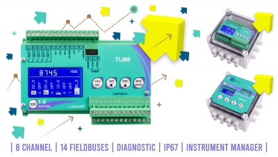 TLM8: the leader in Weight Transmitters