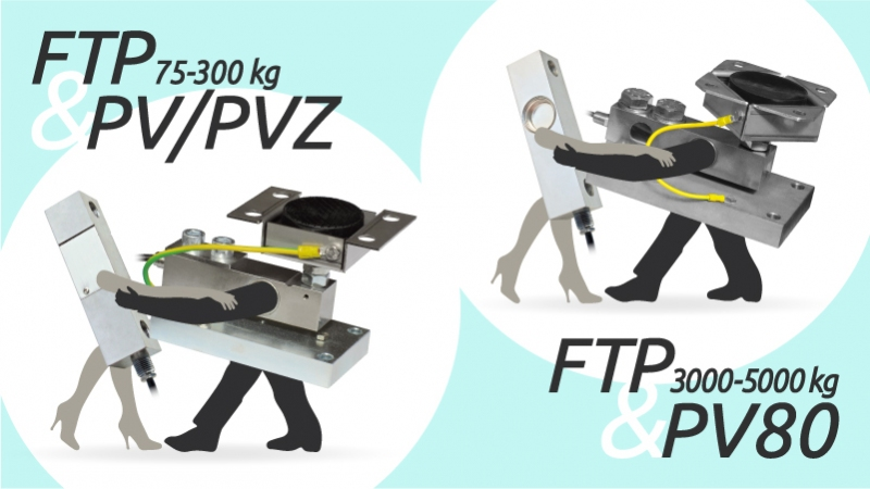FTP load cell and PV mounting kit: like Fred and Ginger