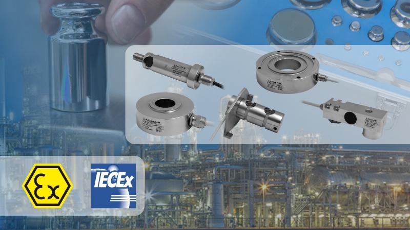 Certificazioni ATEX e IECEx per le celle di carico CUSTOM