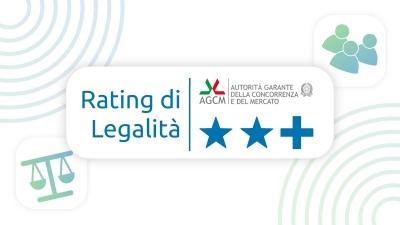 Rinnovo del Rating di legalità: 2 stelle +