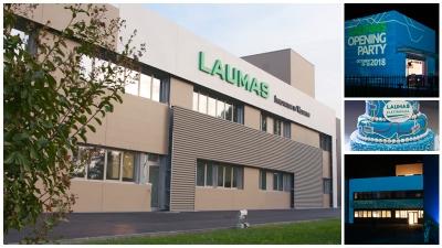 NEW HEADQUARTERS FOR LAUMAS' NEW ERA