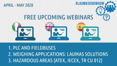 NEW WEBINARS: FIELDBUSES, WEIGHING APPLICATIONS, HAZARDOUS AREA