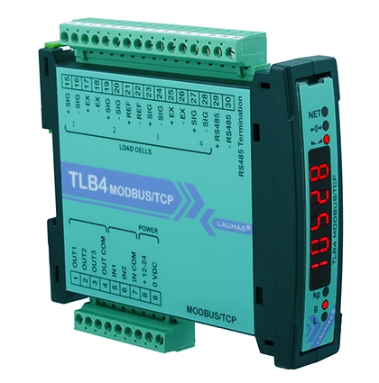 Tlb4 Modbus Tcp Digital Weight Transmitter Rs485