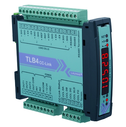 Tlb4 Cc Link Digital Weight Transmitter Rs485 Cc Link