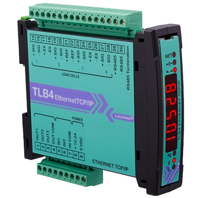TLB4 ETHERNET TCP/IP - Scheda prodotto